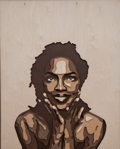 Lauryn Hill is best known for being a member of the Fugees and for her critically acclaimed solo album 'The Miseducation of Lauryn Hill', which won numerous awards including 5 Grammy Awards. 4 layered, 3x46x58